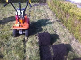 wycinanie, usuwanie trawy,wycinarka darni