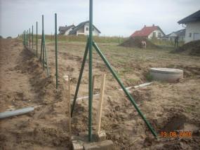 montaż ogrodzeń z siatki