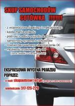 Skup Samochodów ŚLĄSK MAŁOPOLSKA