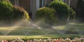 Wydmuchiwanie wody z instalacji nawadniających