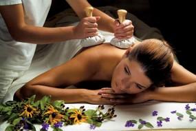 Częściowy masaż stemplami