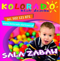 Klub Dziecka Kolorado - sala zabaw, edukacji, rozrywki i opieki