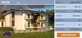 Projekty gotowe pensjonatów, hoteli, domów opieki, zajazdów...