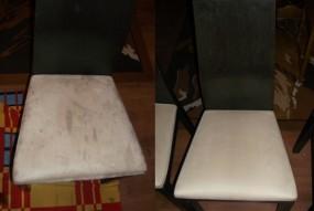 czyszczenie krzeseł