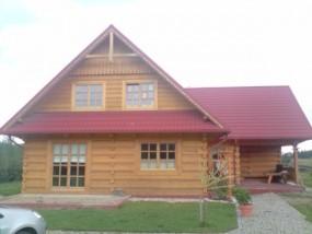 Projekty domów drewnianych i z bali.