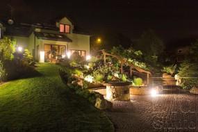Montaż oświetlenia ogrodowego
