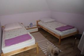 Noclegi w pokojach 2 i 4 osobowych
