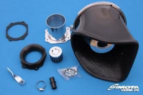 Sportowe filtry, wkładki powietrza zestawy dolotowe