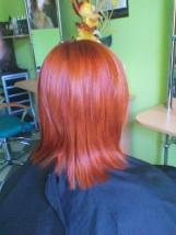 Koloryzacja włosów farbami bez zawartości amoniaku