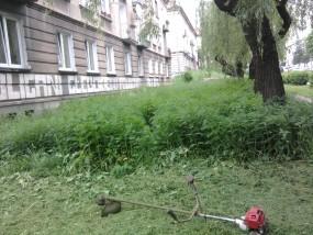 koszenie skarp Bielsko, Czechowice, Kozy