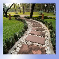 Budowa ścieżek ogrodowych