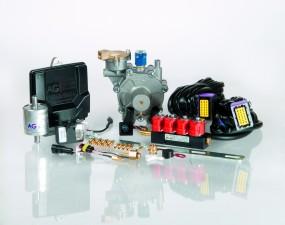 Instalcaja gazowa AGC COMPACT 4 cyl. z montażem