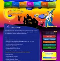 Strona Internetowa Przedszkola www.krainamagii.com