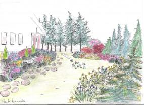 projektowanie, zakładanie ogrodów