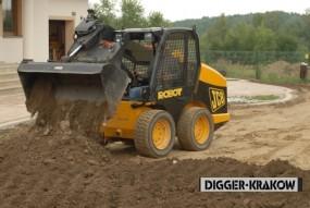 Plantowanie działek i makroniwelacje terenu
