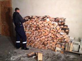 Transport oraz Układanie Drewna u Klienta