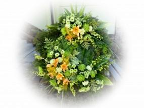 wiązanki i wience pogrzebowe