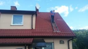 Mycie i czyszczenie dachów