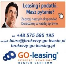 leasing samochodowy, leasing maszyn, leasing urządzeń itp