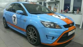 Oklejanie pojazdów - całkowita zamiana koloru