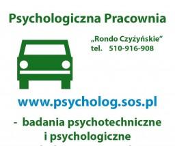 badania psychotechniczne, badania psychologiczne kierowców