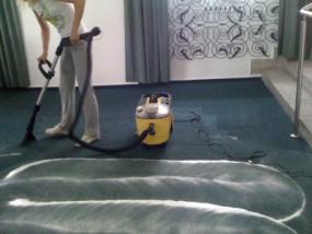 Pranie wykładzin dywanowych i biurowych