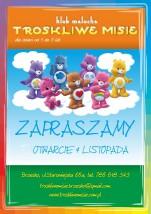Żlobek/Klub Malucha Troskliwe Misie opieka nad dziećmi do 3 lat
