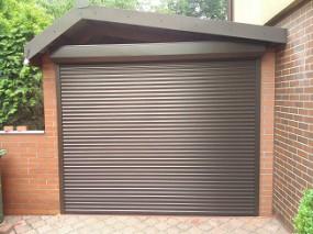 Bramy garażowe rolowane z montażem