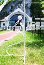 Dekoracja pleneru na ślub