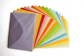 Produkcja kopert kolorowych i ozdobnych