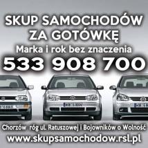 Skup samochodów za gotówkę każda marka i rok produkcji Auto skup