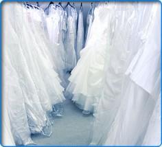 pranie i czyszczenie sukien ślubnych