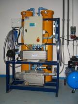 Montaż generatora azotu