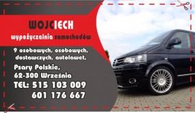 Wypożyczalnia samochodów Wojciech