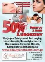 PROMOCYJNE CENY SWIĘTUJ Z NAMI - 5. urodziny Beauty & Health