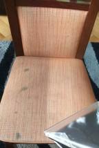 Pranie krzesła