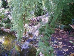 Wodospady strumyki i kaskady ogrodowe