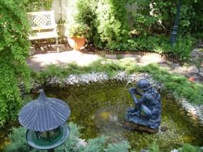 Fontanny w ogrodzie