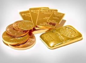 Sprzedaż sztabek i monet złotych