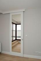 Drzwi z lustrem