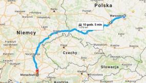 Busy Warszawa, Łódź - Monachium bez przesiadek