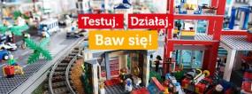 Sala zabaw z robotami LEGO