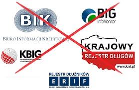 Pożyczki pozabankowe bez BIK, KRD,