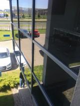 Mycie okien i przeszkleń na wysokości