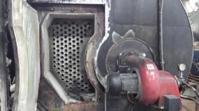 Mechaniczne czyszczenie kotłów parowych i wodnych