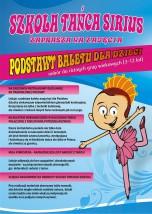 Zajęcia z podstaw baletu dla dzieci