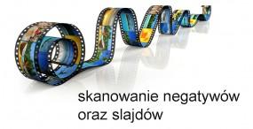 skan negatywu lub slajdu