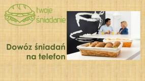 Dowóz śniadań na telefon