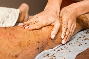 Peeling z masażem
