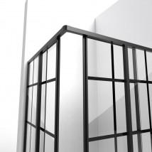 Kabiny prysznicowe industrialne loftowe